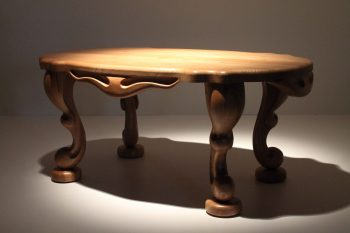 Elm Oval Table