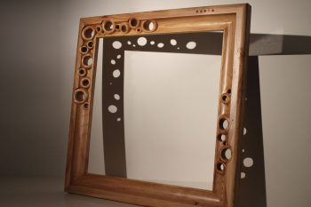 Carved Wood Frame Hollow